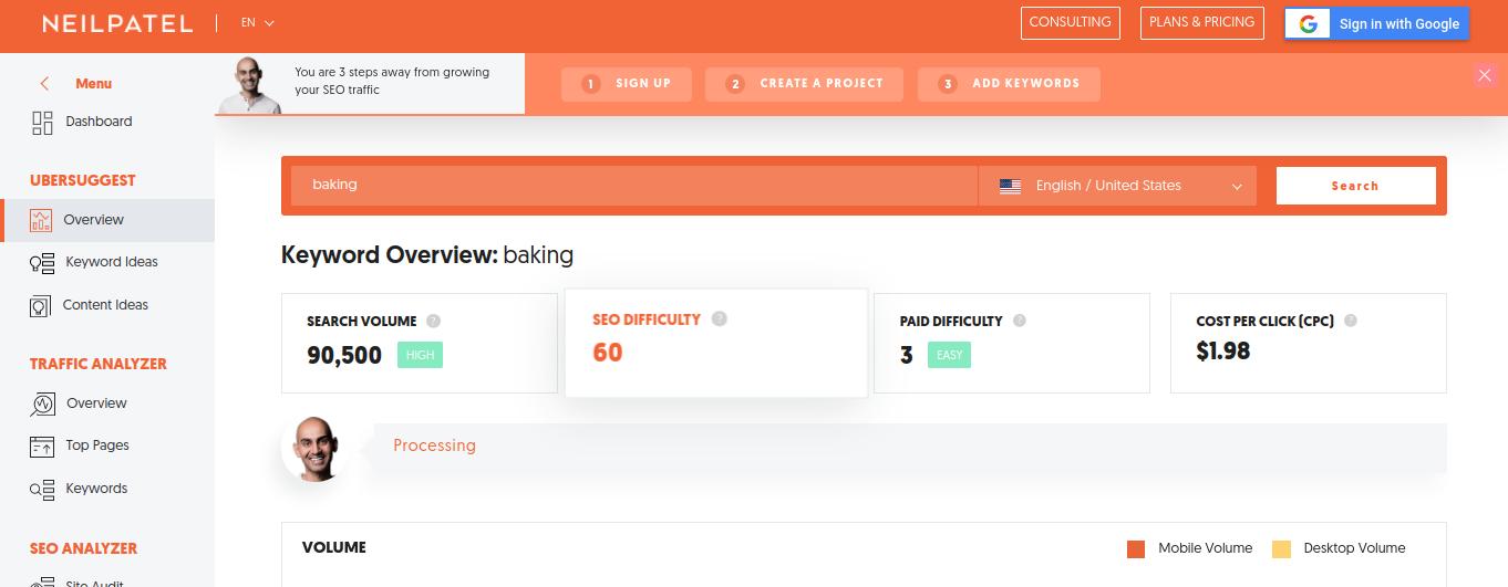 ubersuggest-baking